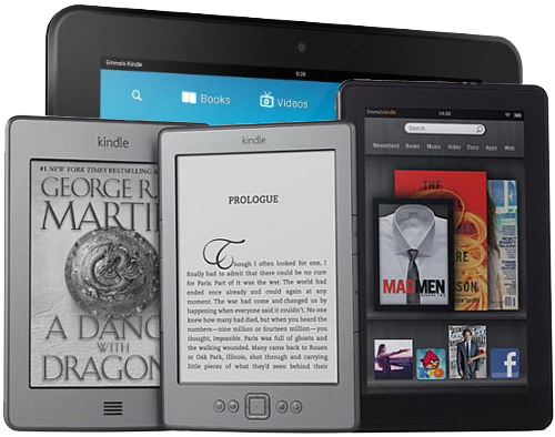 Amazon Kindle eReading Devices