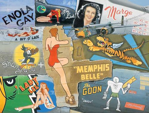 Nose Art of WWII 1000-piece Jigsaw Puzzle