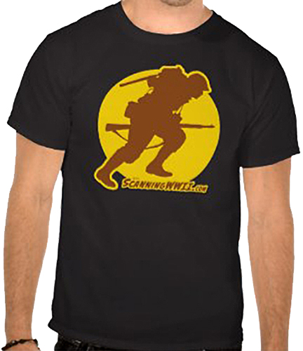 ScanningWWII logo T-shirt